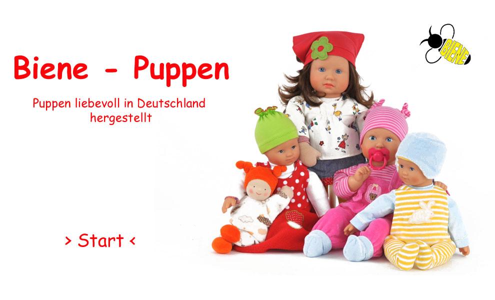 Biene-Puppen